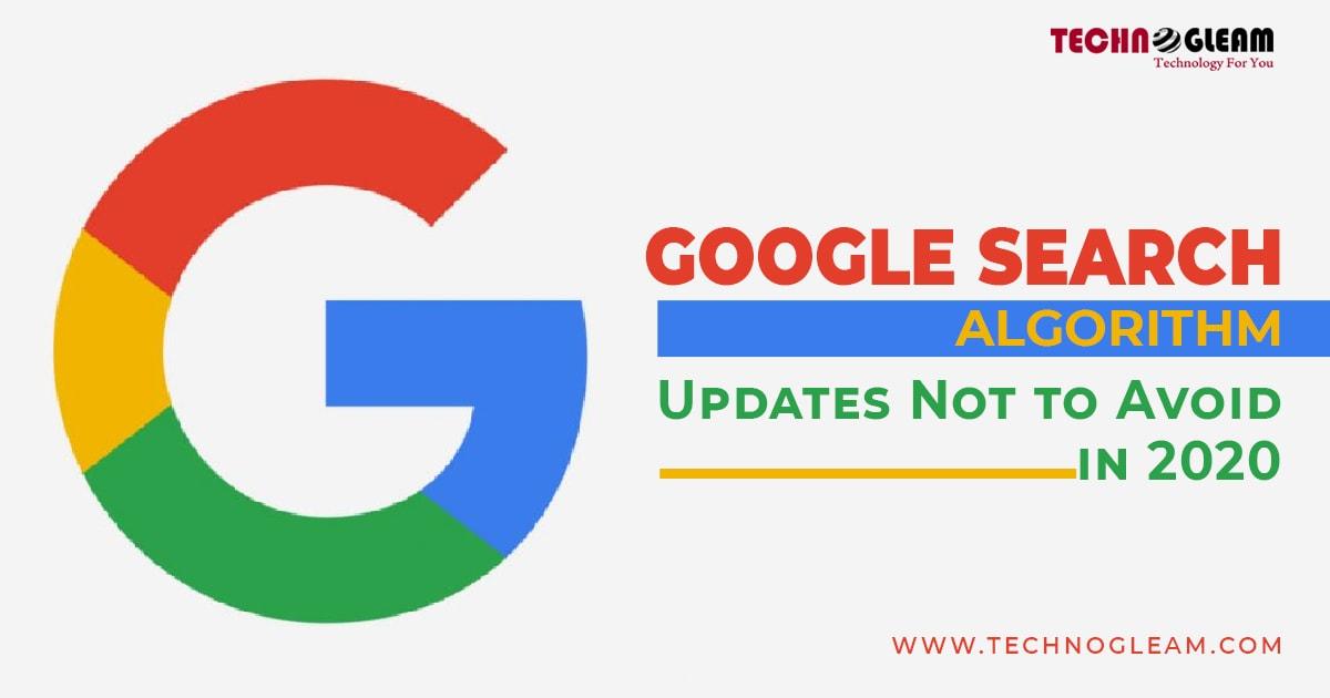 google-algorithm-updates-2020