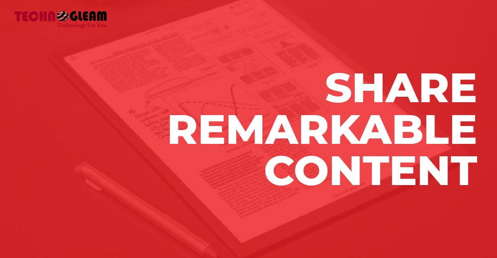 share-remarkable-content