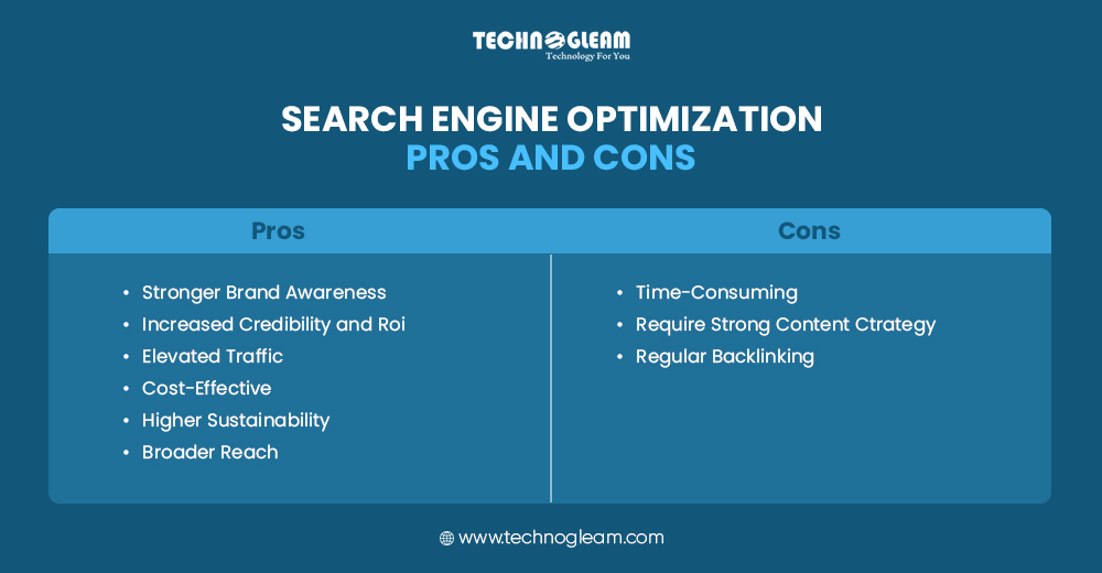 SEARCH ENGINE OPTIMIZATION- PROS AND CONS
