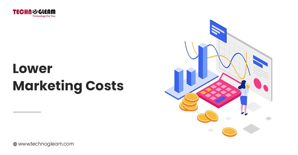 LOWER MARKETING COSTS
