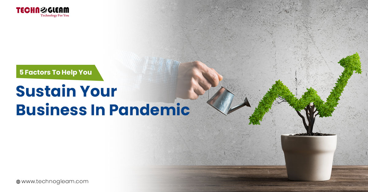 5 Important Factors To Sustain Your Business In Pandemic - Read Now