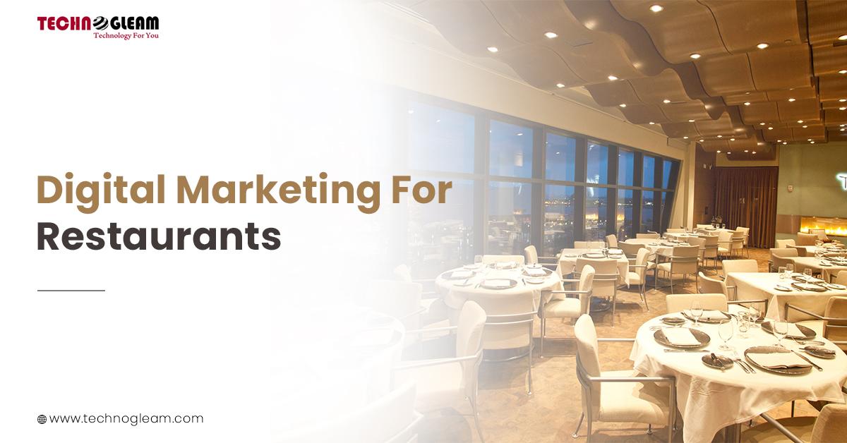 Digital Marketing For Restaurants In 2021 - Read More